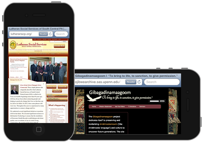 gbmediadesign creates mobile responisve web sites.
