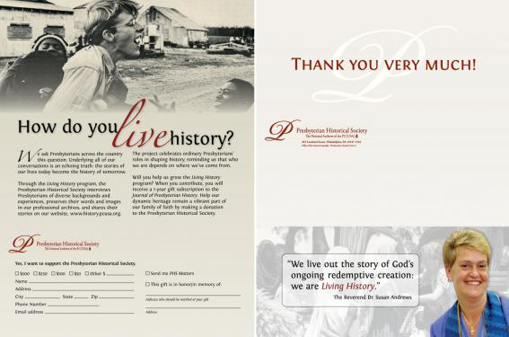 Presbyterian Historical Society: How do you live history?